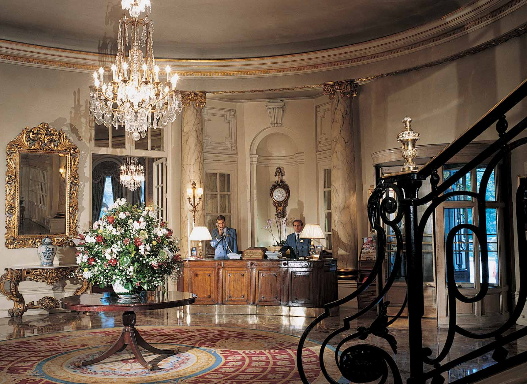 decoracao de interiores estilo francesMadri Hall do hotel Ritz low