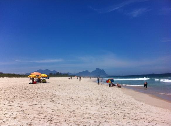 Barra praia da Reserva Rio