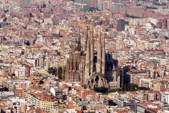Barcelona aérea Divulgação Teresa Perez