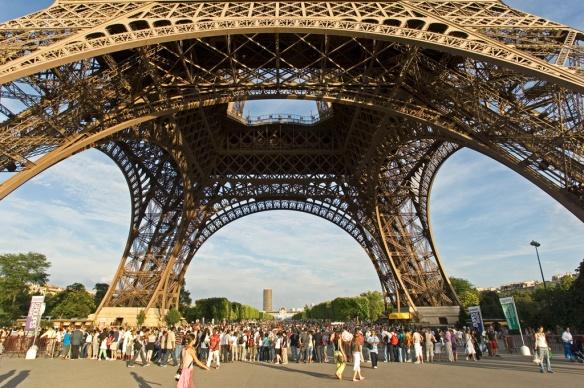 Eiffel Tower by David Lefranc, Paris Tourist Office