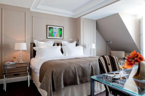 Le Burgundy chambre