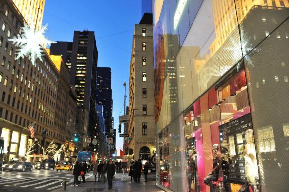 nova york ruas natal