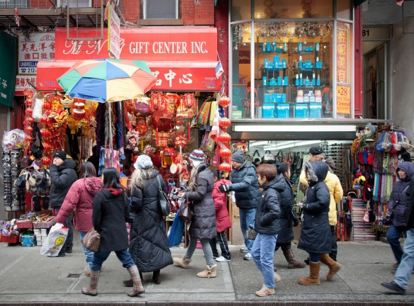 Chinatown Street Scenes