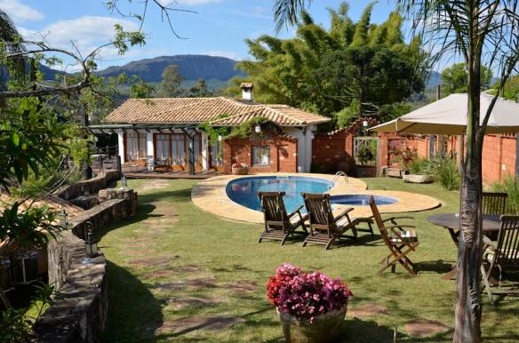 Lis Bleu - Tiradentes (MG) piscina