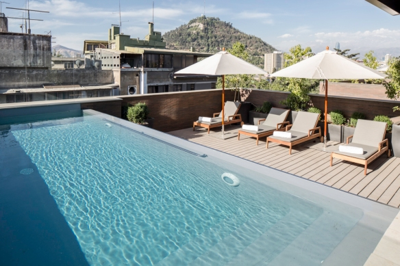 pool The Singular Santiago